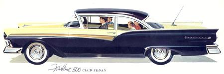 1957 Ford Fairlane 500 Club Sedan