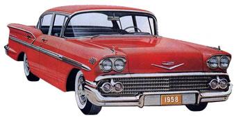 1958 Bel Air Impala