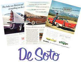DeSoto Original Ads