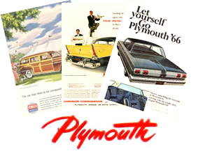 Plymouth Original Ads