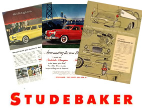 Studebaker Original Ads