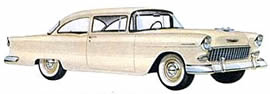1955 Chevrolet 150 two-door Sedan