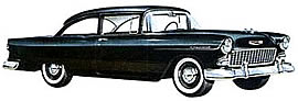 1955 Chevrolet 150 Utility Sedan