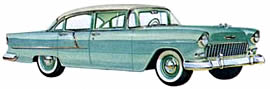 1955 Chevrolet 210 four-door Sedan