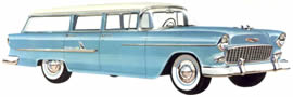 1955 Chevrolet Bel Air Beauville