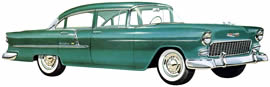 1955 Chevrolet Bel Air Four-Door Sedan