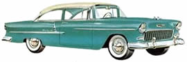 1955 Chevrolet Bel Air Two-Door Sedan