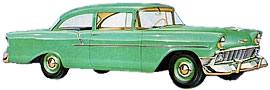 1956 Chevrolet 150 Utility Sedan