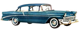 1956 Chevrolet 210 four-door Sedan