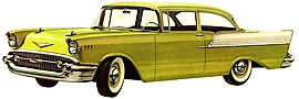 1957 Chevrolet 150 two-door Sedan
