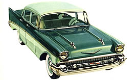 1957 Chevrolet 210 four-door Sedan