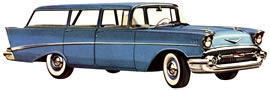 1957- Chevrolet Bel Air Beauville