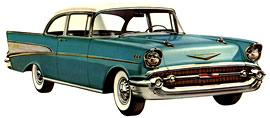 1957 Chevrolet Bel Air two-door Sedan