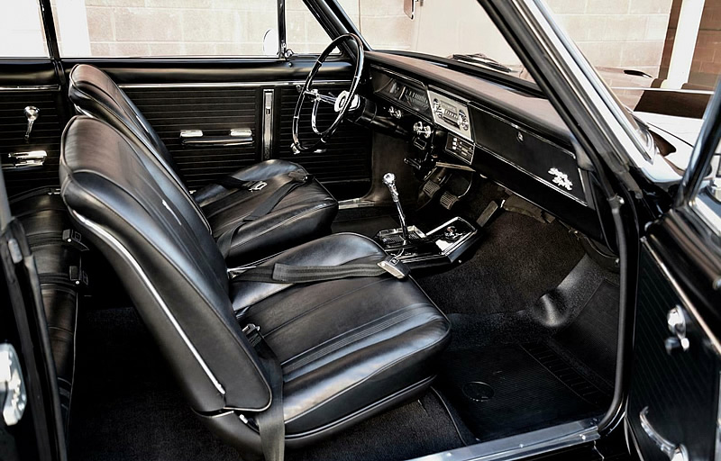 1966 Chevy II SS Interior