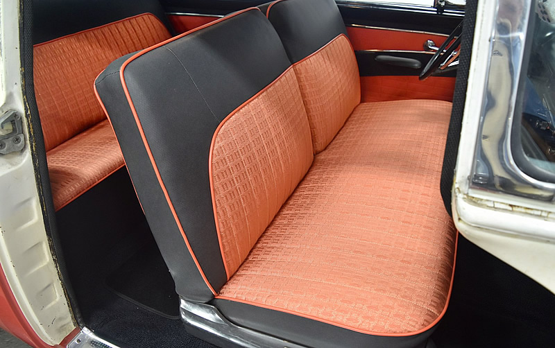 1956 Fairlane seating