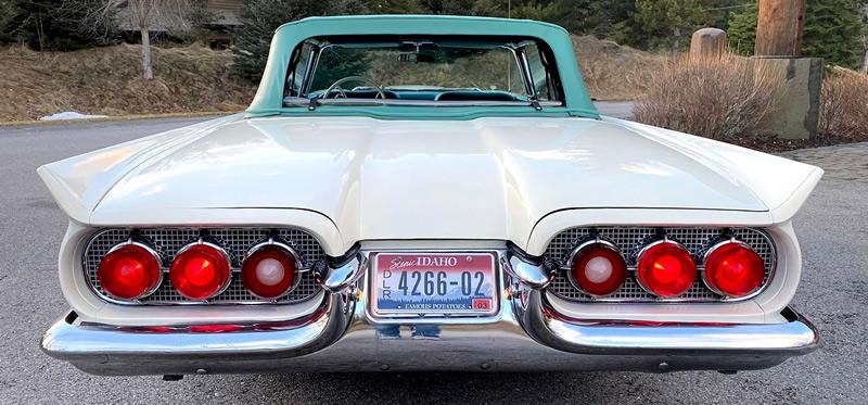 1960 Thunderbird Convertible Rear