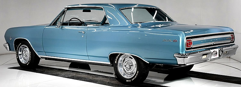rear view of a 1965 Chevelle SS
