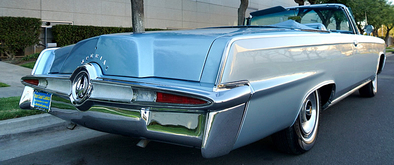 65 Imperial Crown Convertible - side/rear