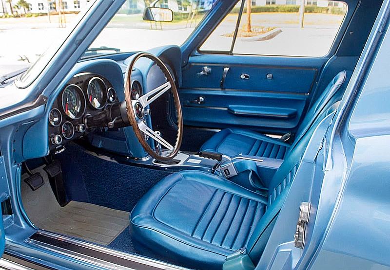 67 Chevy Corvette Interior
