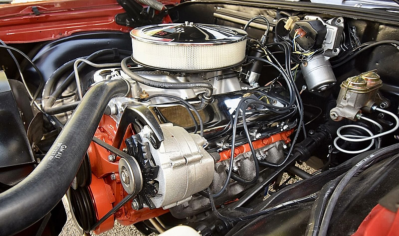 68 Chevy 396 L78 that outputs 375 horsepower