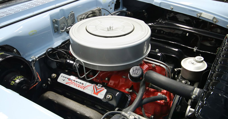 1957 312 cubic inch Thunderbird Special V8 engine