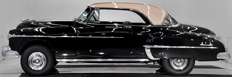 Side view of the 1950 Oldsmobile 88