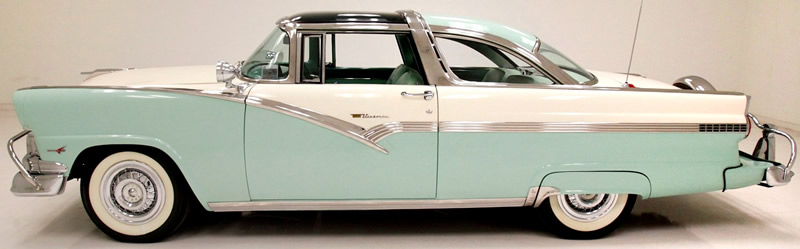 1956 Ford Fairlane Skyliner - Side view