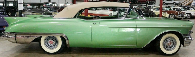 Side view of a 1957 Caddy Eldorado Biarritz