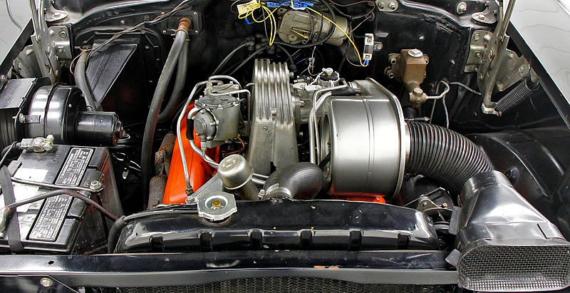 fuel injected 283 V8 in a 57 Chevy