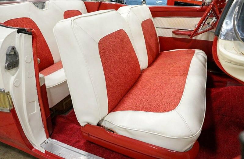 1958 Skyliner cloth and vinyl Interior