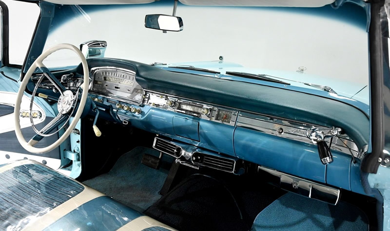 dash / instrument panel of a 1959 Ford Galaxie Skyliner