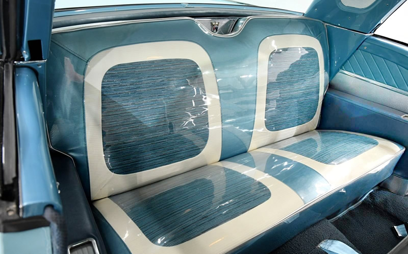 lounge interior of the 1959 Ford