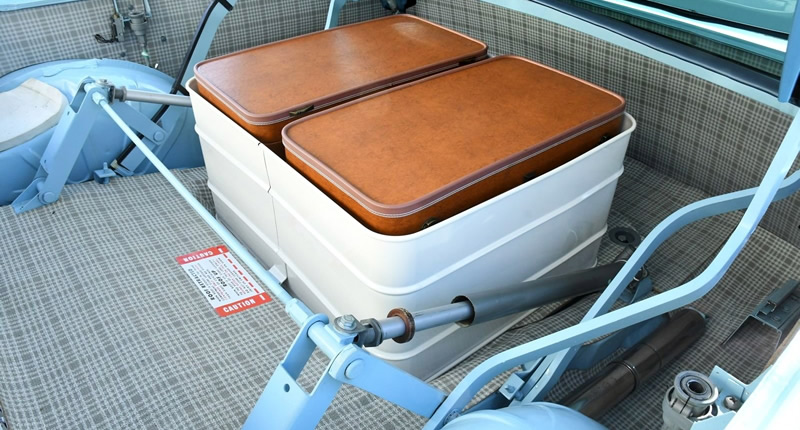 Limited luggage space of the 59 Skyliner