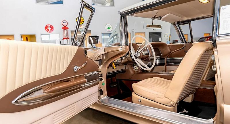 Inside the 1960 Ford Thunderbird - interior shot