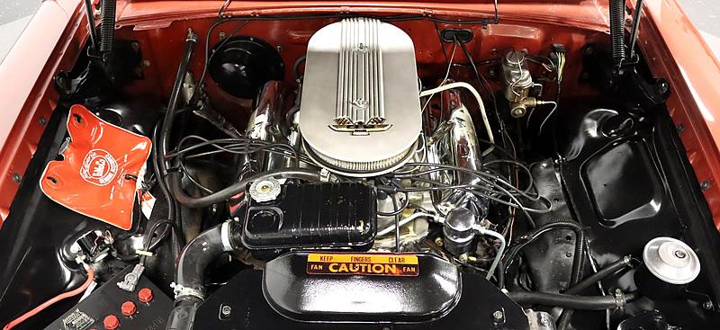 1963 Ford 427 V8 engine with 425 horsepower output