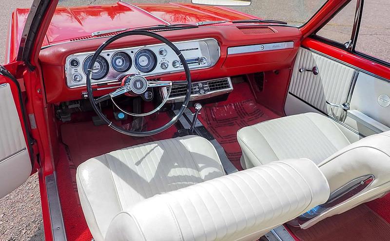64 Chevelle Malibu SS Interior