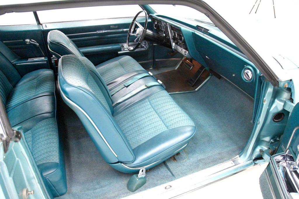 Original interior of a survivor 1966 Oldsmobile Toronado