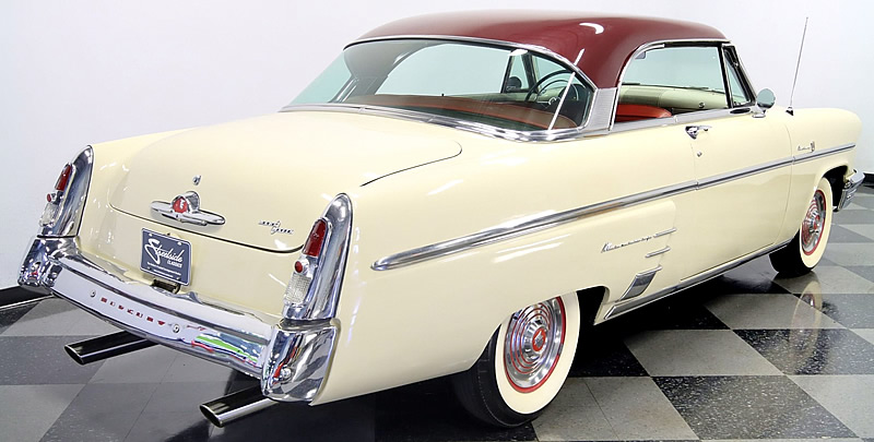 Rear view of a 53 Mercury Monterey