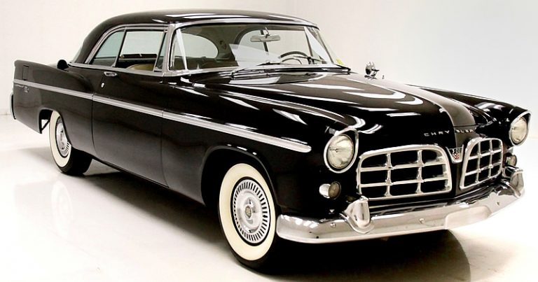 1956 Chrysler 300B in Raven Black