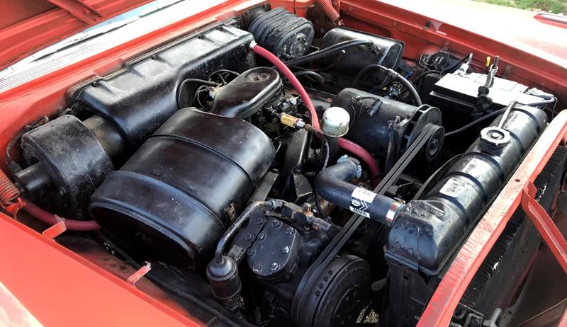 FirePower 392 cubic inch hemi V8 - 1957 Chrysler