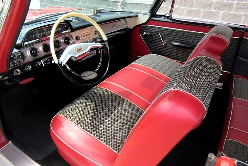 1957 Dodge Custom Royal two-tone factory interior
