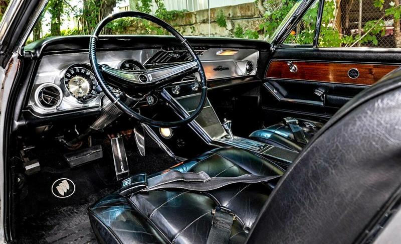 interior shot of a 63 Riviera