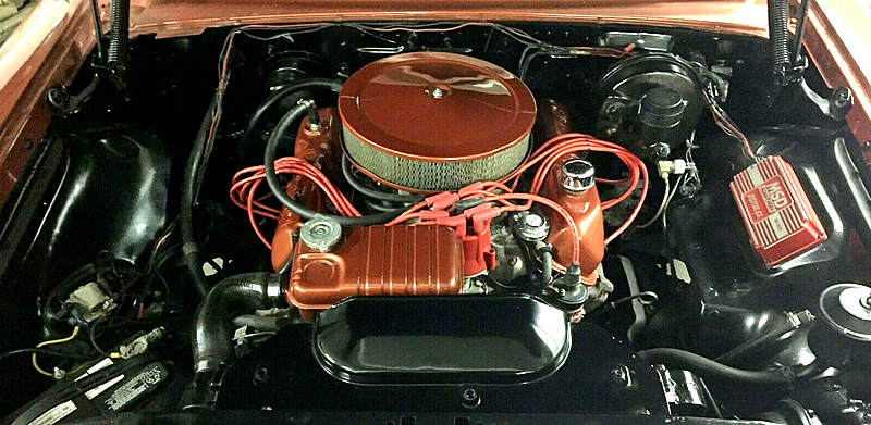 1963 Ford 352 cubic inch V8 engine