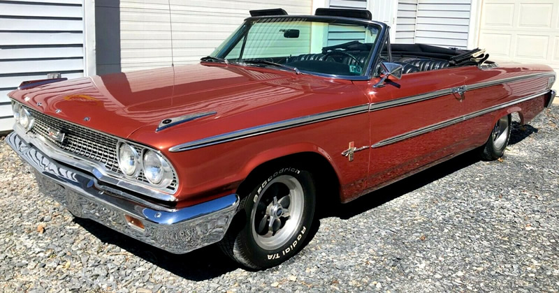 1963 Ford Galaxie 500 XL Convertible