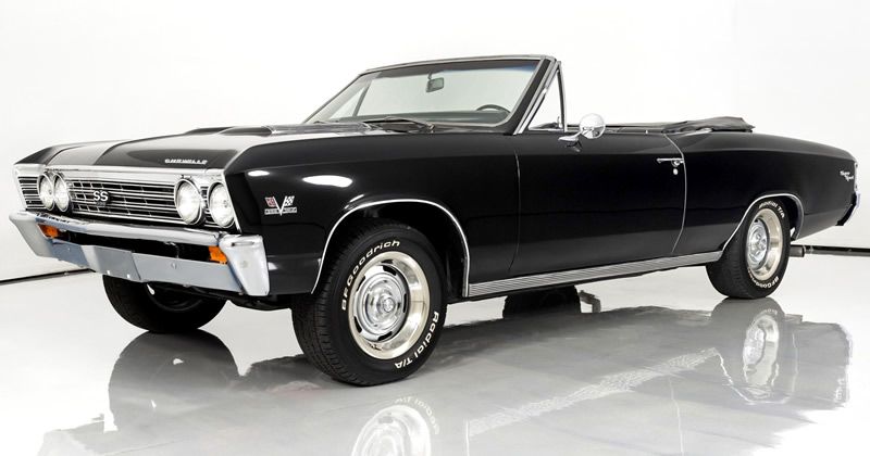 1967 Chevy Chevelle SS 396 Convertible