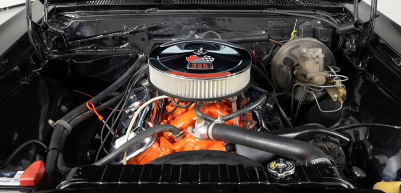 1967 Chevy 396 V8 engine