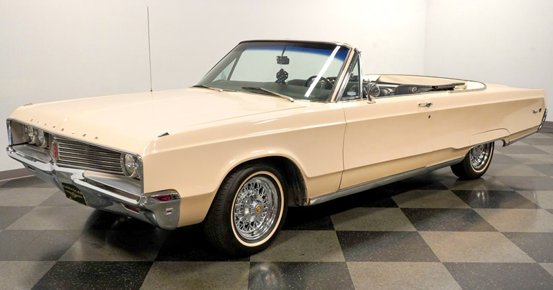 1968 Chrysler Newport Convertible