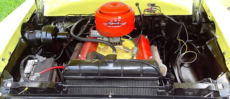 Ford 239 cubic inch OHV 130 hp Y-Block V8 engine