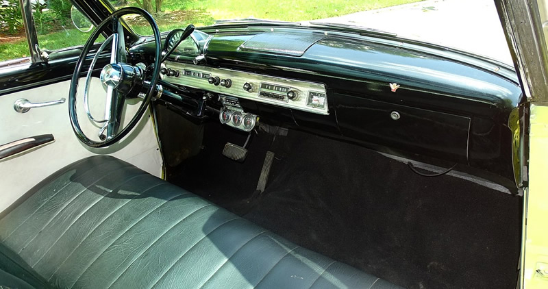 interior of a 1954 Ford Skyliner