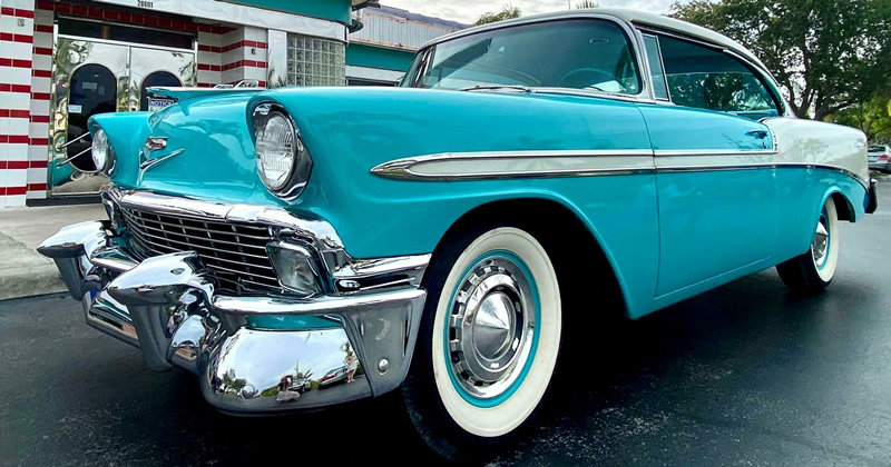 1956 Chevy Bel Air Sport Coupe